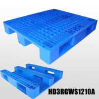 Buy cheap 1200x1000mm PP Heavy Duty Plastic Storage Pallets with 3 Skids, HD3RGWS1210A from wholesalers