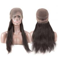 Buy cheap No Loose No Tangle High Density 100% Real Brazilian Human Hair 360 Lace Wig/360 Lace Band from wholesalers