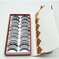 Buy cheap 3D Mink Fur Fake Lashes Custom Lash Packaging Boxes from wholesalers