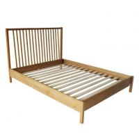 Buy cheap White Oak Double Bed from wholesalers