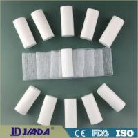 Buy cheap White Open Woven Wow Absorbent Surgical Gauze Bandage Roll from wholesalers
