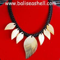 Buy cheap Shell necklace bead necklace art shell with bead from wholesalers