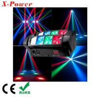 Buy cheap Mini Spider Beam Moving Head Light LED Sound Rotating Disco Light for Home Party from wholesalers