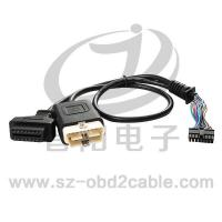 Buy cheap Automobile diagnostical cable OBDM+OBDF-HOUSING from wholesalers