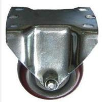Buy cheap 3 Purplish Colored Wheel Fixed Casters for Lean Pipe from wholesalers
