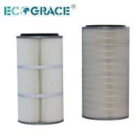 Buy cheap PTFE Membrane Spun Bonded Polyester Air Pleated Filter Cartridge from wholesalers