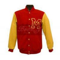 Buy cheap Michael Jackson Thriller Wolf Jacket in Red and Yellow Wool from wholesalers