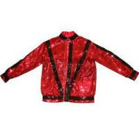 Buy cheap Michael Jackson Thriller Jacket in Red with Black Sequin from wholesalers