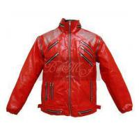 Buy cheap Michael Jackson Beat It Jacket in Red & Silver Shoulder from wholesalers