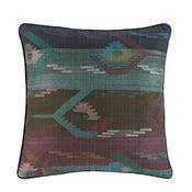 Textiles Wide Stripe Dhaka Pillow Item #: 65707