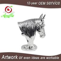 Buy cheap Silver Resin Horse Head Trophy for Home Office Accessories from wholesalers