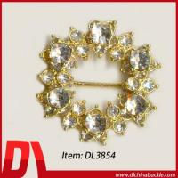 Buy cheap Belt Buckle Napkin Ring With Diamond from wholesalers