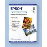 Buy cheap Paper Epson A4 Archival Matte Paper (Pack of 50) C13S041342 from wholesalers