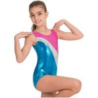 Buy cheap Childrens Tri Color Tank Gym Leotard by Body Wrappers from wholesalers