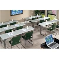 Buy cheap 700 lb. Cap. Resin Folding Seminar Tables- 18x61 Resin Folding Table from wholesalers