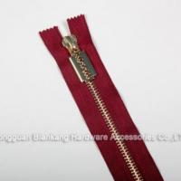 Buy cheap Colored High Quality Metal Zipper from wholesalers