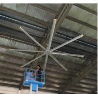 Buy cheap 24ft 7.3m CE Certificate 440V AC motor warehouse hvls large ceiling fan product