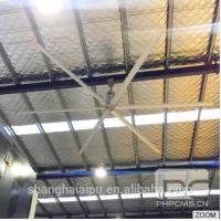 Buy cheap 22ft The best High Volume Low Speed energy saving industrial hvls ceiling fan product