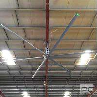 Buy cheap 20ft CE certificate 380V industrial hvls air cooler ceiling fan product