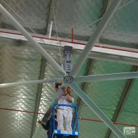 Buy cheap AWF55 5.5m HVLS Industrial ceiling Fan widely used in workshop, faoctory,club product
