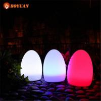 Buy cheap LED Ball Waterproof IP65 RGB Colors Rechargeable Floating LED Eggs Light Ball from wholesalers