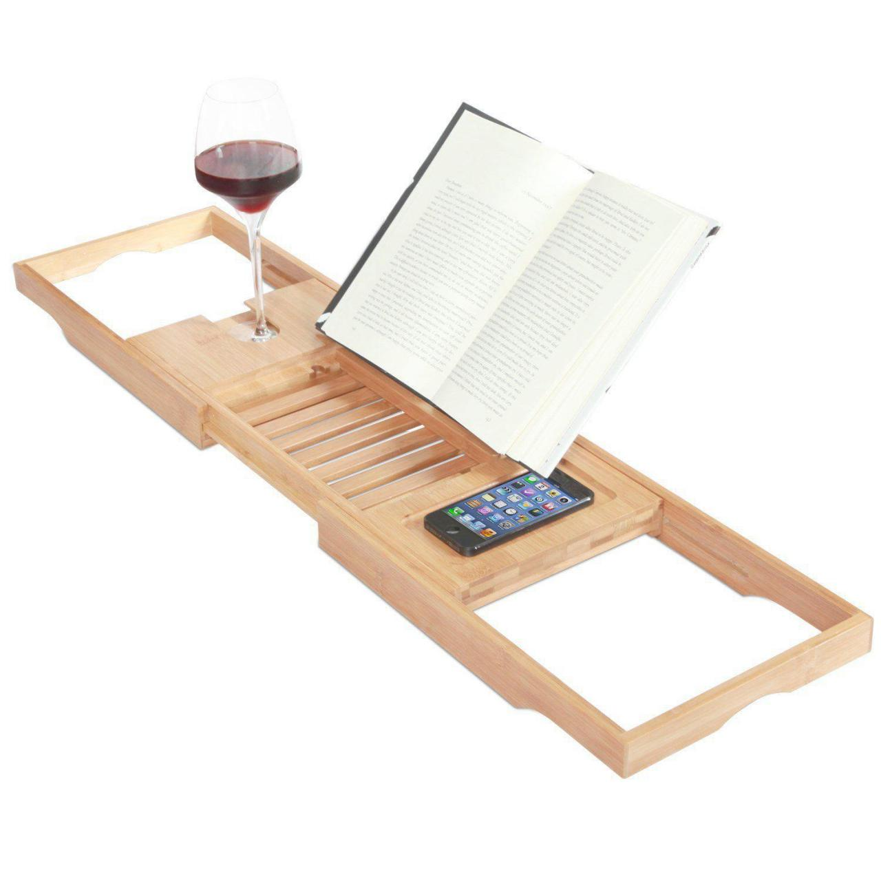 Buy cheap bamboo bathtub caddy from wholesalers