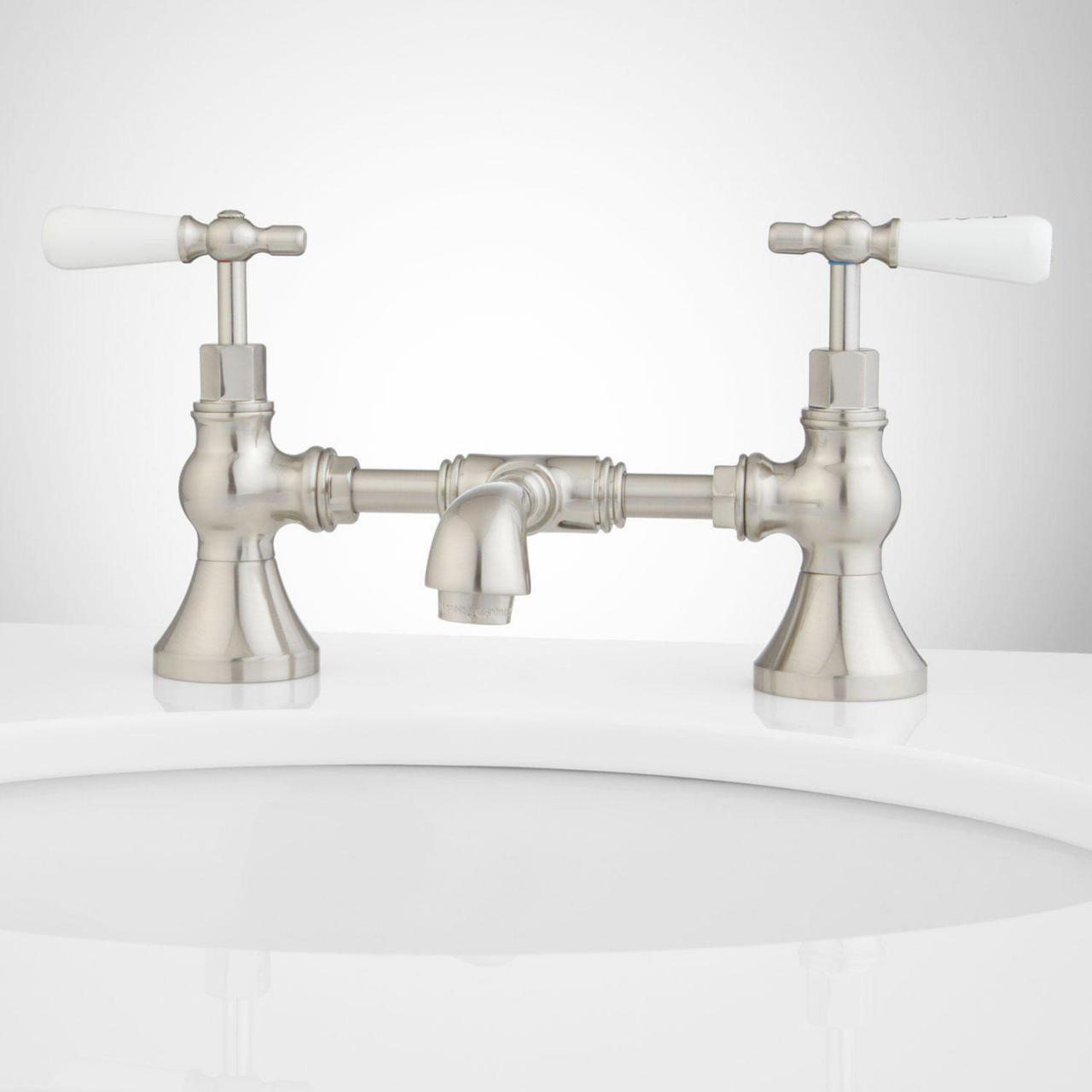 Buy cheap bridge faucet bathroom from wholesalers