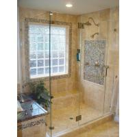 Buy cheap shower with glass block window product