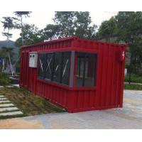 modified prefab container house European container house gas station containers