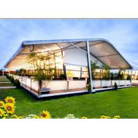Buy cheap high quality aluminium curve party tent for sale in shenzhen of China product