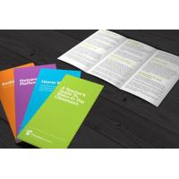 Buy cheap Standard folded leaflet printing Standard folded leaflet printing from wholesalers