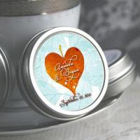 Buy cheap Personalized Fall in Love  Heart Mint Tins from wholesalers