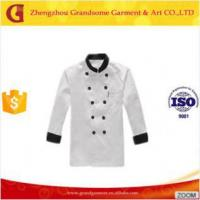 Buy cheap Chef Apparel White Designer Executive Chef Uniform, Chef Cook uniform from wholesalers