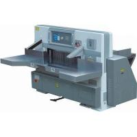 Buy cheap QZYK920D Program Control Double Hydraulic Double Guide Paper Cutting Machine from wholesalers
