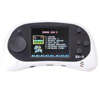 """ZHISHAN Kids Classic Retro Portable Handheld Video Game Console Player 2.5""""LCD 8 Bit 260 in 1 White"""