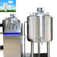 Milk and fruit filling and packing liquid pasteurization machine