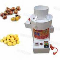 Nuts Grinder ,roaster and Peeler Chestnut Shelling Machine