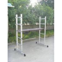 Buy cheap Aluminum Scaffold ladder from wholesalers