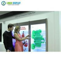 Hot Selling Fruits and Vegetables Electricity Power Source Transparent LCD Screen Fridge