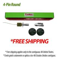 """FREE SHIPPING TowMate 22"""" Limelight Wireless Tow Light Bar, 4-PIN ROUND"""