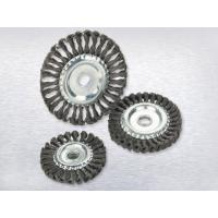 Buy cheap Twisted wire wheel brushTwisted wire wheel brush from wholesalers