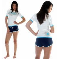 Buy cheap Adults Ladies Surf Shirt Short Sleeved from wholesalers