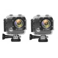 Buy cheap Action Cameras 2 x Pro HD II PLUS 2 x FREE 2nd Battery - Pair Deal product
