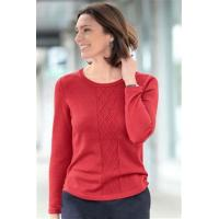 Buy cheap cotton cable knit jumper (CHJ) from wholesalers
