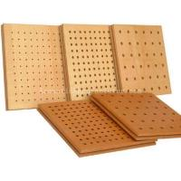 Buy cheap Wooden Perforated Acoustic Panels 1200x600x15 from wholesalers