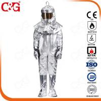 Buy cheap Aluminized coverall/suit 10H from wholesalers