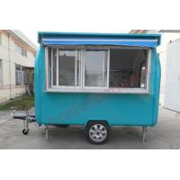 Buy cheap High quality new sale truck fast food mobile kitchen trailer towable food trailer for sale from wholesalers