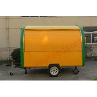 Buy cheap Factory Supply crepe food truck for sale hot dog food cart waffle carts food cart for sale from wholesalers
