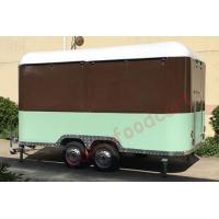 Buy cheap Top quality mobile food carts trailer towable food trailer for sale food truck supplies from wholesalers