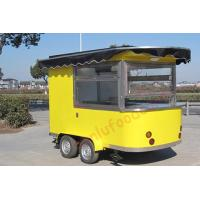Buy cheap High quality pretzel machine for sale mobile ice cream kiosk breakfast carts coffee trailer from wholesalers